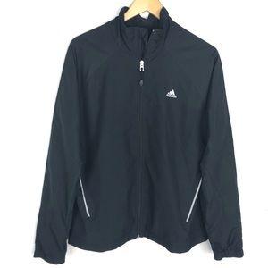 Adidas 3 Stripe Back Vented Wind Jacket